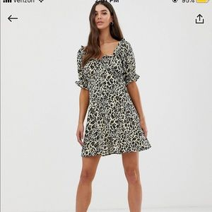 ASOS Design Tall Sweetheart Mini Dress
